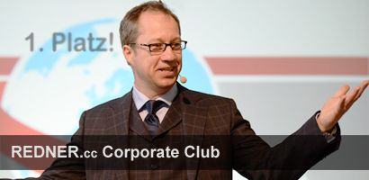 Comedy Speaker Dr. Jens Wegmann REDNER.cc Corporate Club