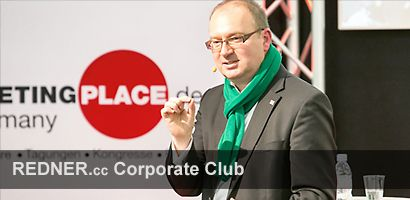 Speaker Innovation Axel Liebetrau REDNER.cc Corporate Club