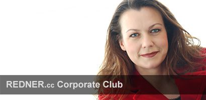 Rednerin Kommunikation Ilona Lindenau REDNER.cc Corporate Club