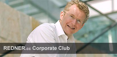 Referent Management Kurt-Georg Scheible REDNER.cc Corporate Club