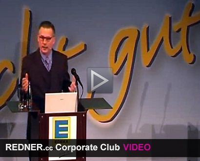 Redner Video Dr. Hubert Steinfeld - REDNER.cc Corporate Club